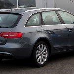 Audi_A4_Avant_2_0_TDI_Ambiente_(B8,_Facelift)_–_Heckansicht,_17__Mai_2012,_Velbert