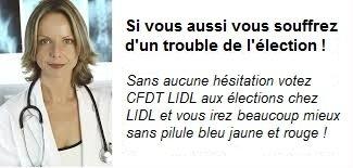 CFDT LIDL election 2015