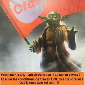 La force CFDT LIDL